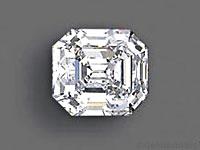 Diamante tallado en esmeralda